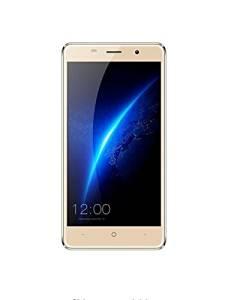 Unlocked Smartphone,Nolia New Leagoo M5 3G Unlocked 16GB ROM 5.0 Inches Freeme OS 6.0 Smartphone, MTK6580A Quad Core 1.3GHz, 2GB RAM GSM & WCDMA(Golden)