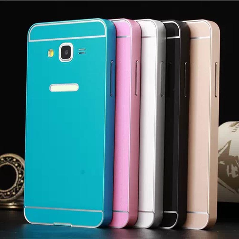 new styles 673a1 6b88d Wholesale-Puscard New Luxury Metal Case Cover For Samsung Galaxy Grand  Prime G530H G5308 Free Shipping&Wholesales