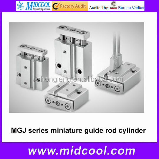 MGJ series miniature guide rod cylinder
