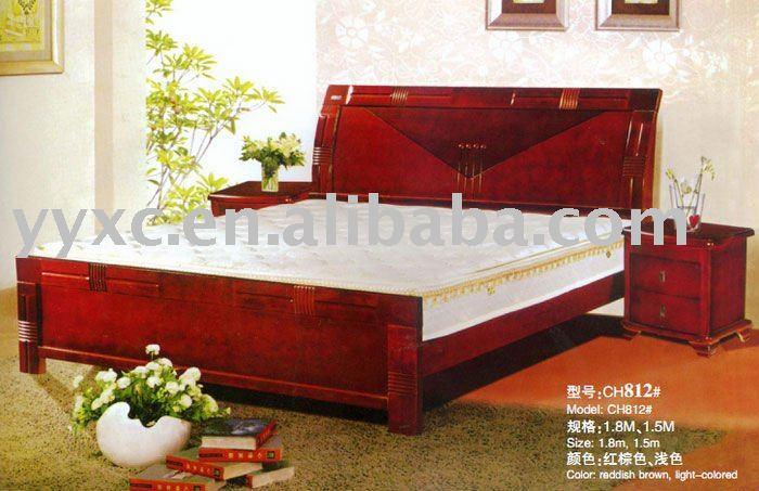 Venden bien reina camas de madera camas identificaci n del for Cama queen de madera