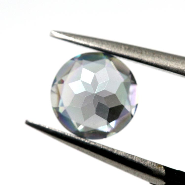 faceted stone natural gemstone topaz round topaz gems for jewelry stone mystic topaz