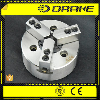 1be364e60464 3 jaw through hole hydraulic power chuck for turret type cnc lathe machine