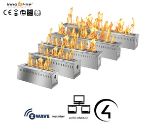 Inno living 36 inch smart control alcohol burner ecological fireplace