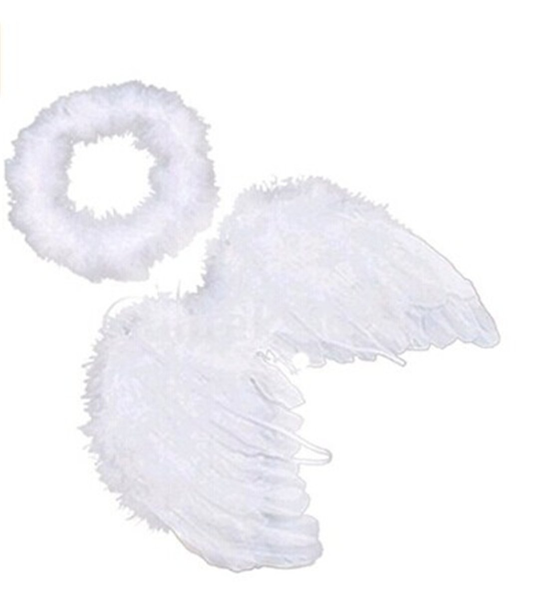 Cheap Walking Wings For Babies Find Deals Upspring Baby Blue Get Quotations Unke White Feather Angel Halo Newborn 0 6 Months