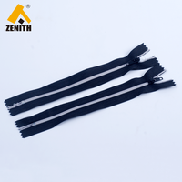 No.3 Plated Silver Teeth Nylon Zipper ZN20007