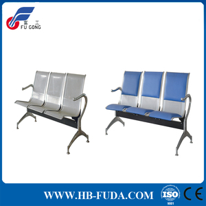 Medcal three seats hospital stainless steel waiting chair