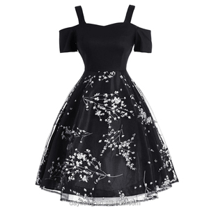 14a54fbb7eb Rockabilly Swing Dress Print