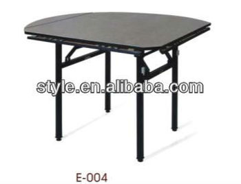 6 People Folding Round Square Tables