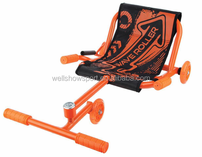 Wellshow Sport Wave Roller Scooter for Kids with 3 Wheel Kick