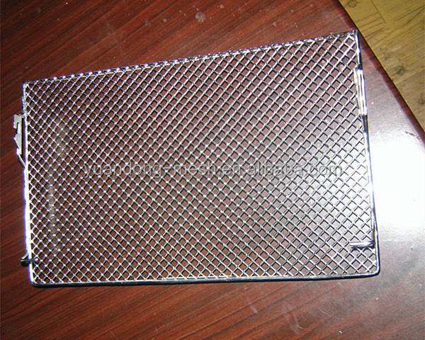 Stainless steel diamond mesh grill expanded metal for