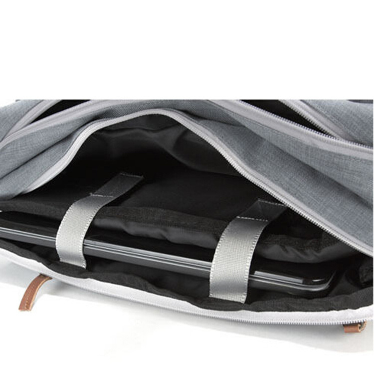 Multifunctional Stylish Korean Laptop Bag With Double Shoulder Straps