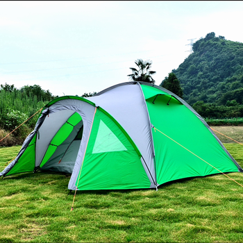 German Aldi waterproof outdoor tent with solar system design for family camping