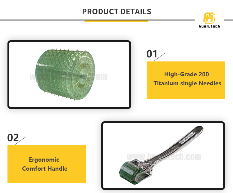 Huafu microneedle roller therapy system mts