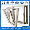 New Product Aluminum Tilt Turn Window with iron window grill design