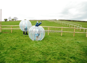 Funtoys CE crazy inflatable belly bump ball,inflatable belly bumper ball,human inflatable bumper bubble ball