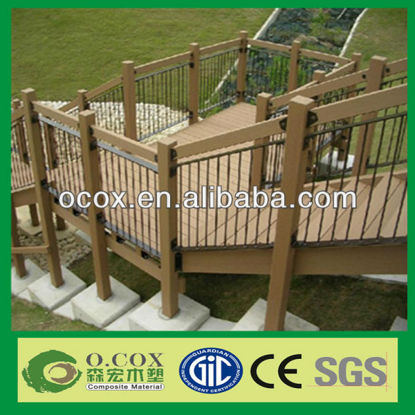 WPC Outdoor Hand Railings For Stairs