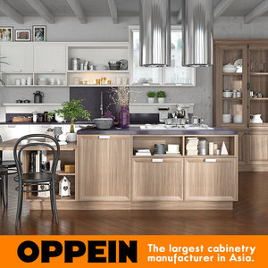 OPPEIN affordable modern design kitchen pantry cabinets