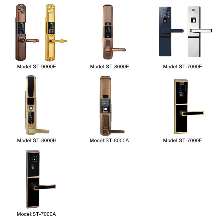 Static 45 microamps automatic repair red bronze smart Lock