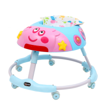 2019 New Model Safety And Comfortable universal mute Wheels 360 Degree Rotating Baby Walker