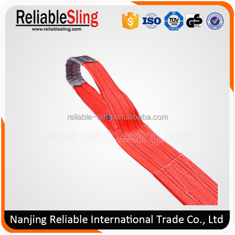 Soft Nylon Hitched Webbing Sling/Lifting Slings Belt