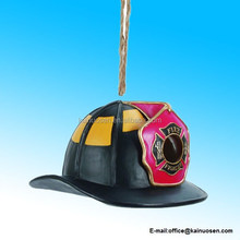 Resin Fire Hat Birdhouse