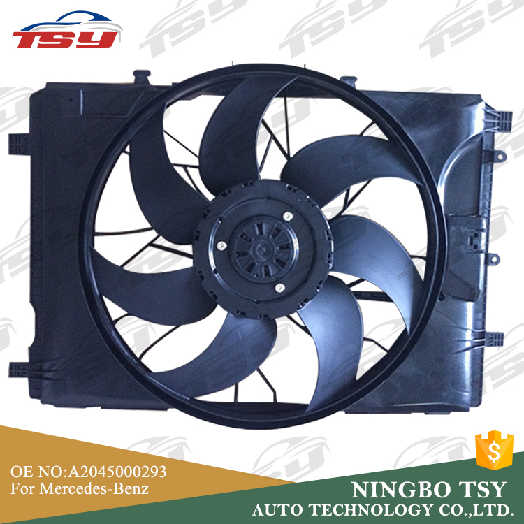 High Quality OE A2045000293 A2049066802 A2045400788 Car Radiator Cooling Fan Motor For Benz W204/W212