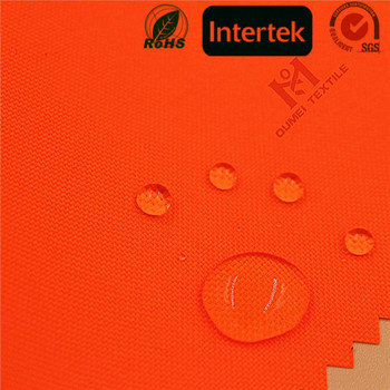 EN certification 100% Polyester PU Milky Coated 300D Oxford Fabric with waterproof