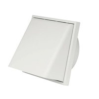 Use in clothes dryer, kitchen and bathroom air exhaust SUA-P Plastic Vent Louver