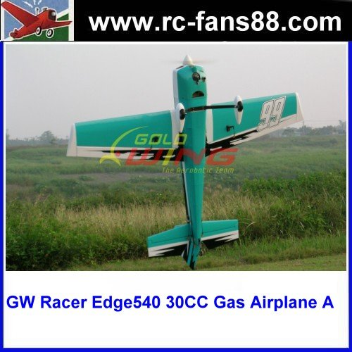 GW Racer Edge540 30CC 75in Gas Powered Balsa ARF RC Airplane A Color