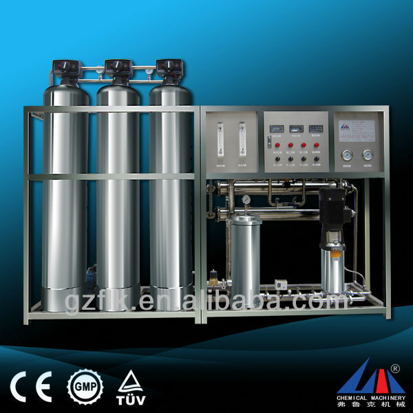 Stainless steel high speed water softener resin