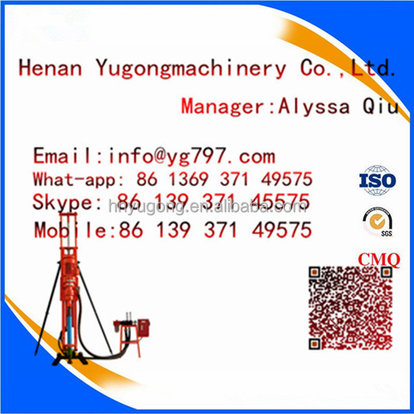 Factory Supply big capacity Middle East Iran Soil Sampling core drilling jobs
