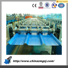 Color Steel Glazed Roof Tile Roll Forming Machine, Metal Roof Roller Former Making Machine