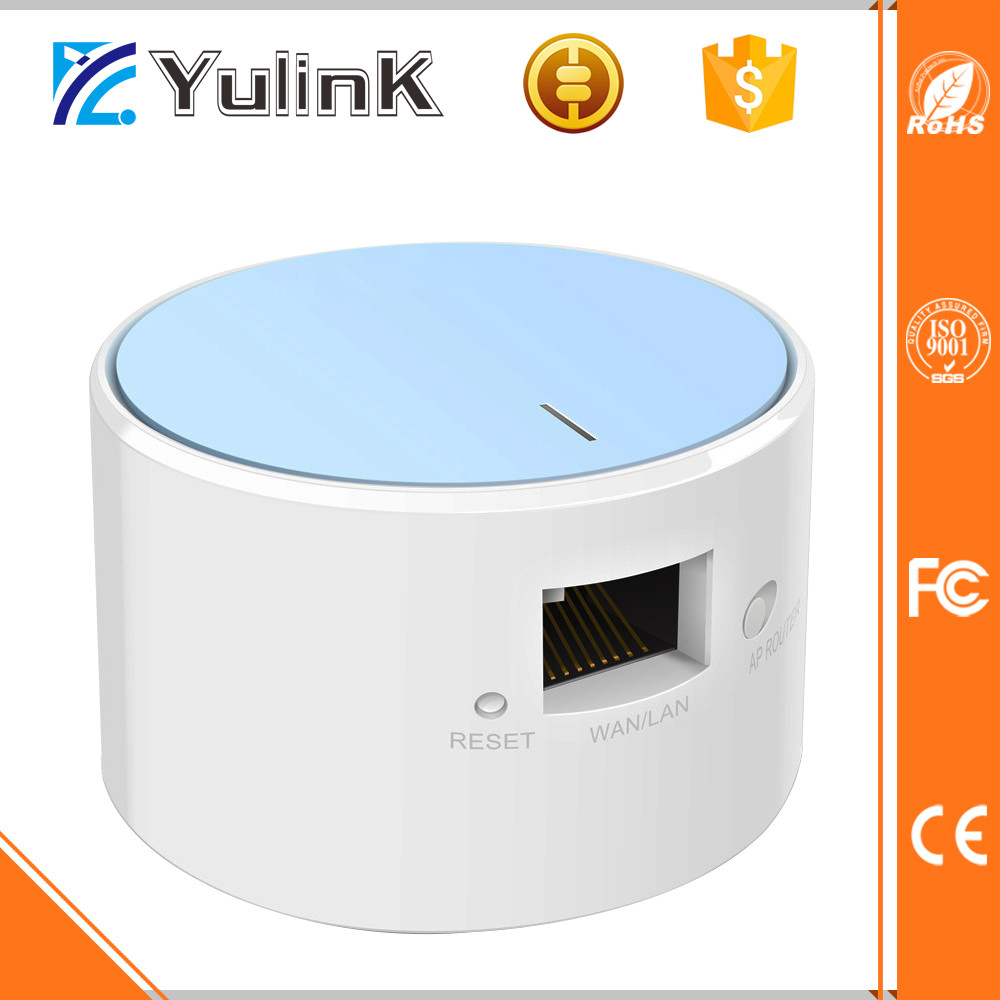 150Mbps WAN LAN MINI wireless travel router with AP Router Repeater and Bridge function