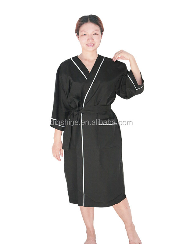Client Kimono Beauty Salon Hairdressing Gowns For Stylish In ...