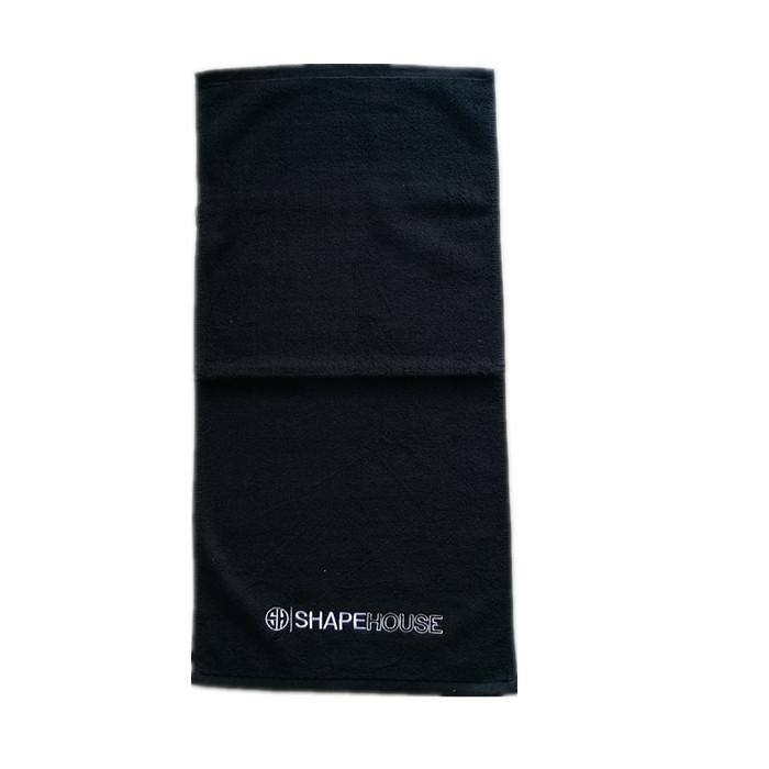 מותאם אישית רקמת OEM לוגו פנים מגבת יד מגבת כותנה מגבת