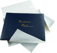 Customized Condolence Memory Book,Memorial Guest Book - Buy ...