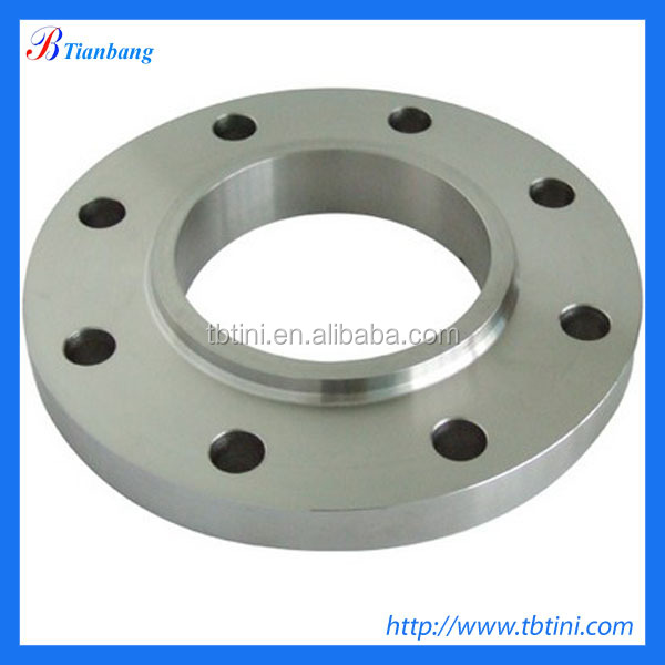 Factory Produce Best Quality ASTM B16.5 Gr2 Class150 300 Titanium Slip-On Neck Pipe Flange