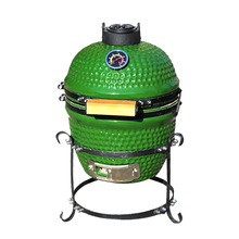 Snelle Levering Indoor Meubelen Mini <span class=keywords><strong>Houtskool</strong></span> 13 <span class=keywords><strong>inch</strong></span> Kamado Keramische Grill
