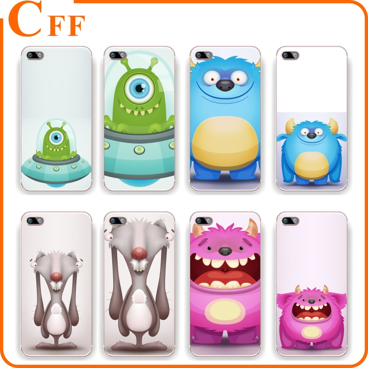 TPU Cartoon Phone Case For ZTE Blade X2 X3 X 5 X7 X9 V6 GF3 A310 AF3 A610 A510 V7 LITE Zmax Pro Z998/Z981 Cover