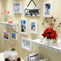Sea And Beach Style Wood Picture Frame Set For Wall Decoration