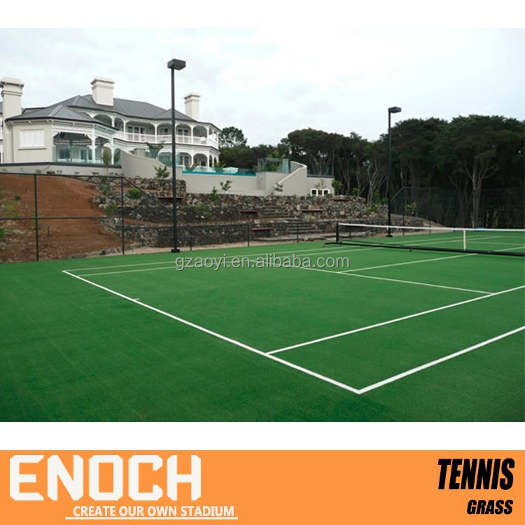Low factory wholesale Tennis court artificial grass prices