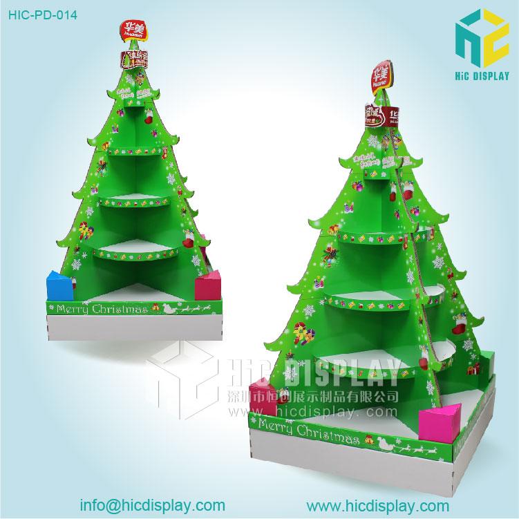 Display Christmas Tree Rainforest Islands Ferry