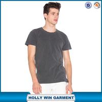 Slim fit crew neck cheap blank plain dark gray metallica t shirts free shipping