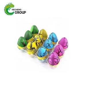 Funny color crystal dinosaur growing pet egg animals toy