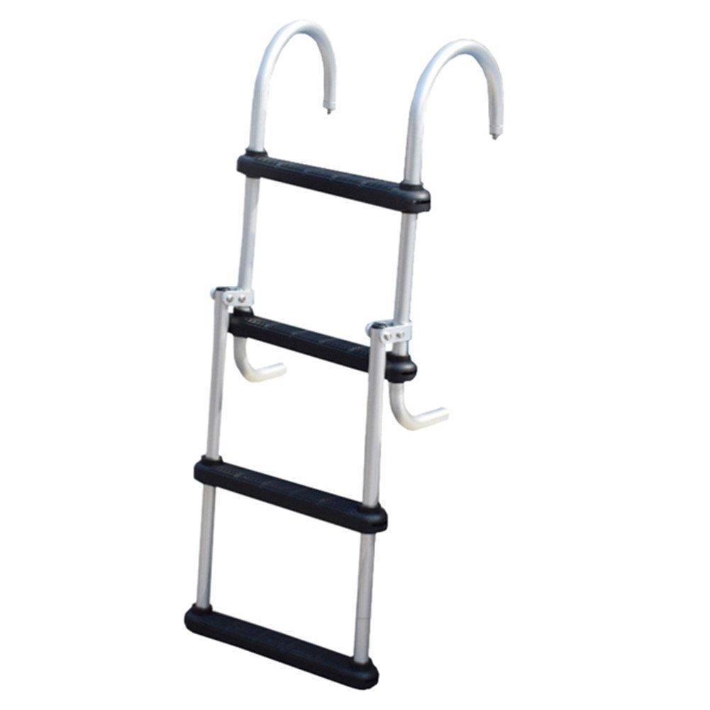 Swinger pontoon boarding ladder