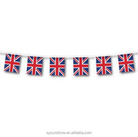 Custom make decorative string national String Flags all countries and football team flags