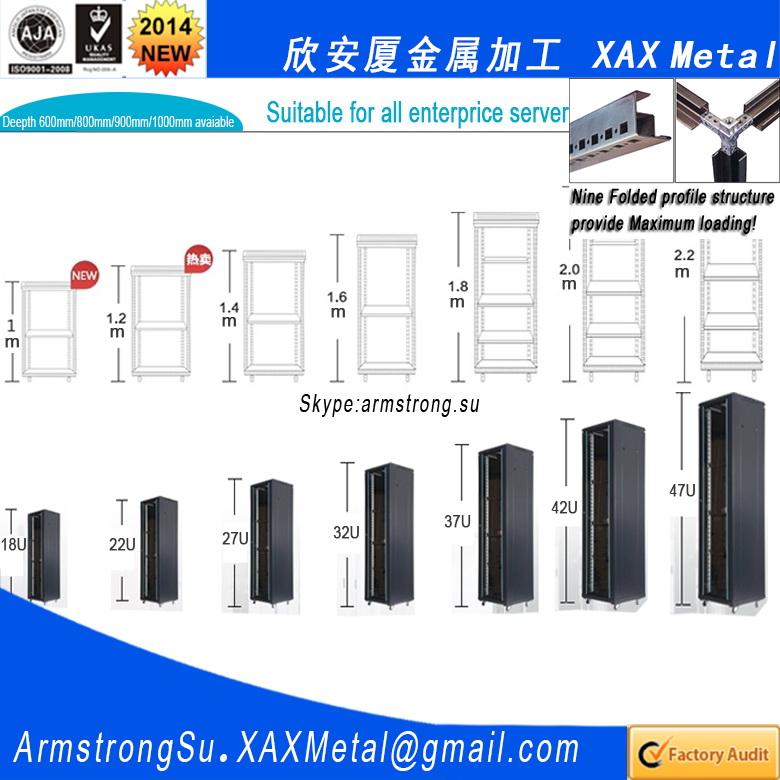 Xax01sc Oem Odm Customerized Ventilated Fan Airflow Rack