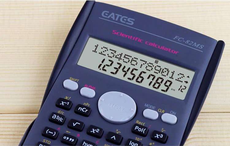 Cheap and good quality 2-line Scientific calculator with 240 function for high school student