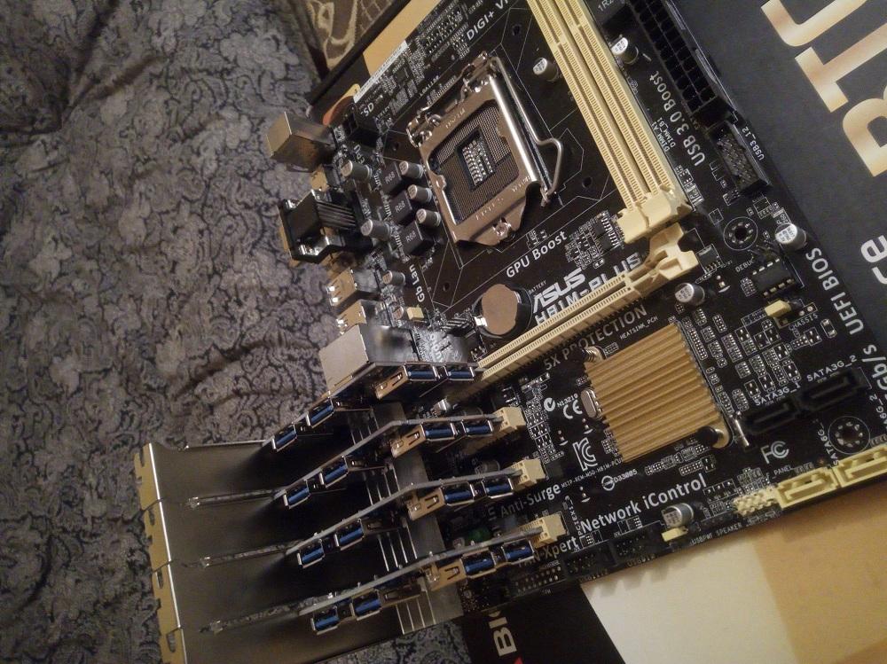 Ranhuras Pci Express 16x Placa Riser Pci-e 1x Para External 4 Adaptador De  Slot Pci-e Pcie De 1 A 4 Portas Multiplicação De Mineração - Buy Pci