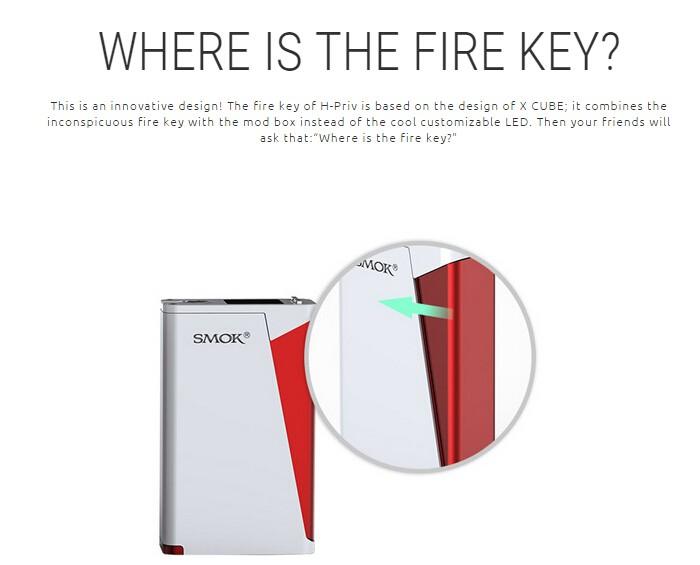 Smok H-priv Kit China Supplier Adjustable Initial Resistance H ...